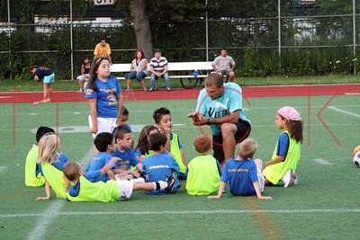 BROOKLYN - JULY 22: Brooklyn Italians Soccer Academy practice at John Dewey High School on Wednesday, July 22, 2009 in Brooklyn, NY.