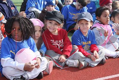BROOKLYN - NOVEMBER 7: Players compete at Brooklyn Italians Soccer Academy Trophy Day at John Dewey High School on Saturday, November 7, 2009 in Brooklyn, NY.