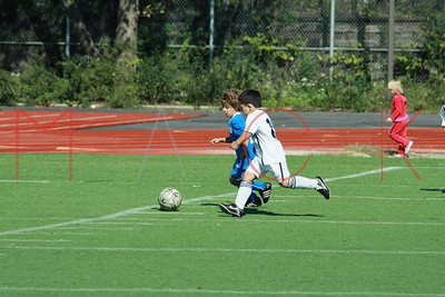 BROOKLYN - OCTOBER 2: Brooklyn Italians Soccer Game at John Dewey High School on Saturday, October 2, 2010 in Brooklyn, NY.