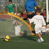 Brooklyn - August 5: Players compete at Brooklyn Italians Soccer Academy Practice at John Dewey High School on Thursday, August 5, 2010 in Brooklyn, NY.  (Photo by Steve Mack/S.D. Mack Pictures)