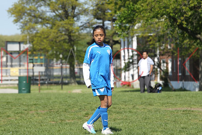 Staten Island - May 8: Players compete at  Brooklyn Italians Soccer Game at New Dorp on Sunday, May 8, 2011 in Staten Island, NY.