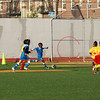 Brooklyn - October 23: Players compete at Brooklyn Italians vs. Central Brooklyn Soccer Club game at Old Boys High School on Sunday, October 23, 2011 in Brooklyn, NY.  (Photo by Steve Mack/S.D. Mack Pictures)