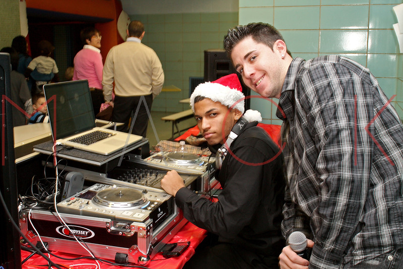 Brooklyn - December 18: Friends and family attend the Brooklyn Italians Soccer Academy Christmas Party at Cavallaro JHS on Friday, December 18, 2009 in Brooklyn, NY.  (Photo by Steve Mack/S.D. Mack Pictures)
