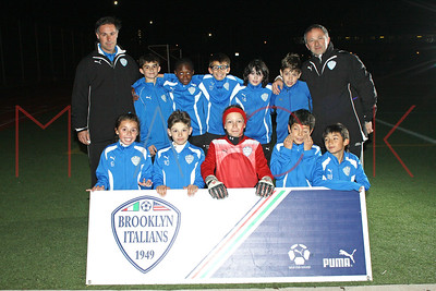 Brooklyn Italians S.A. Roma U-11 Team Photos