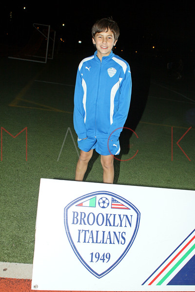 Brooklyn - November 9: Cihan at Brooklyn Italians Soccer Academy Team Photo Session at John Dewey High School on Tuesday, November 9, 2010 in Brooklyn, NY.  (Photo by Steve Mack/S.D. Mack Pictures)