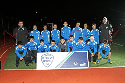 Brooklyn Italians S.A. Roma U-16 Team Photos