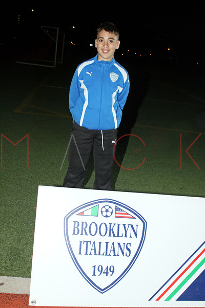 Brooklyn - November 9: Rocco at Brooklyn Italians Soccer Academy Team Photo Session at John Dewey High School on Tuesday, November 9, 2010 in Brooklyn, NY.  (Photo by Steve Mack/S.D. Mack Pictures)