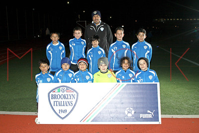 Brooklyn Italians S.A. Roma U-9 Team Photos