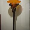 A neat floor lamp