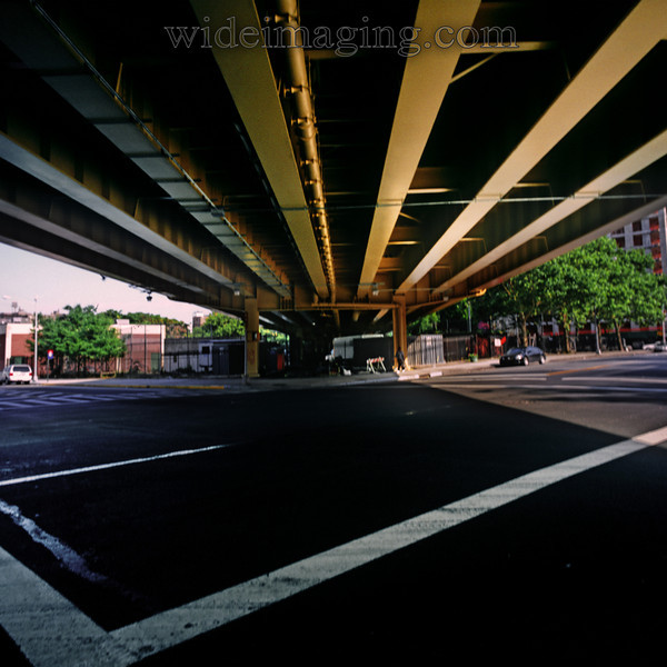 Under the BQE at Gold and Nassau Street, July 2, 2009.