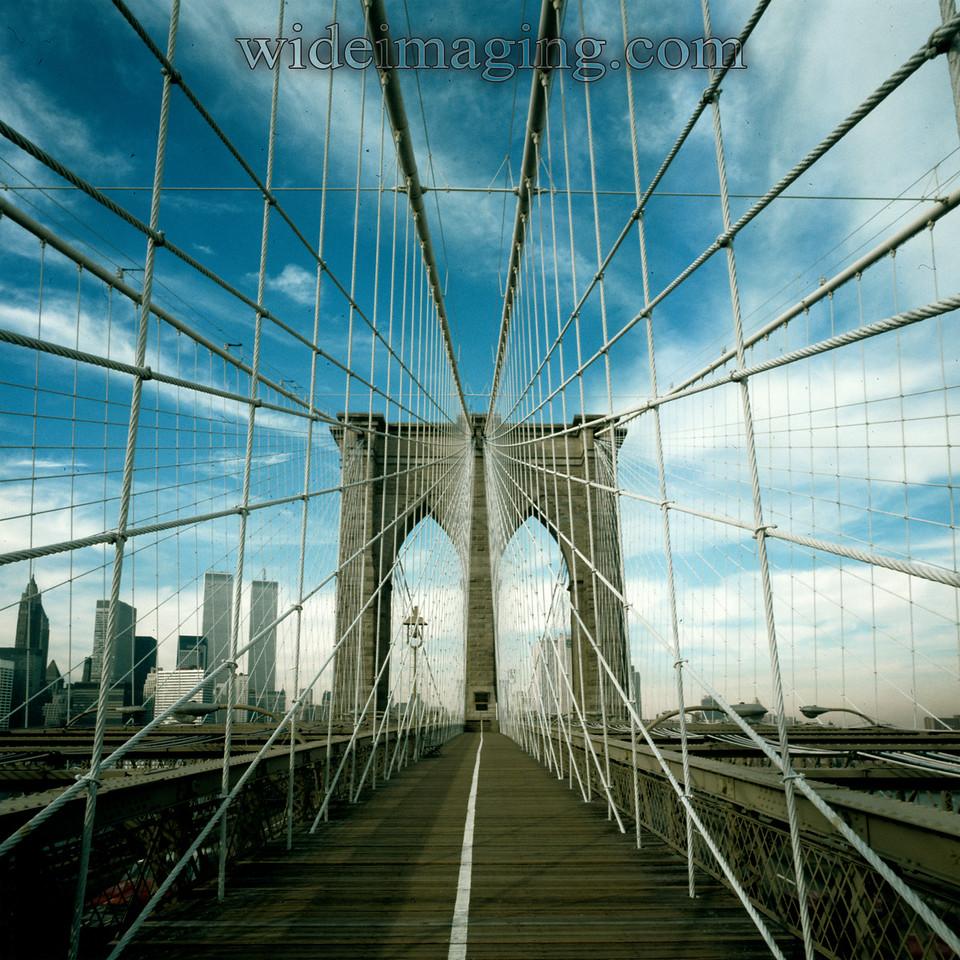 Brooklyn Bridge, February 1979.