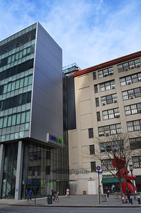My Alma Mater Brooklyn Poly, 333 Jay Street. April 27, 2013