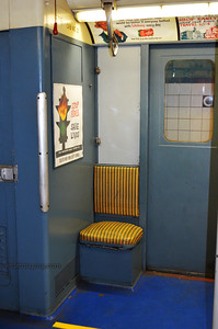 Seat of the anti-social subway rider