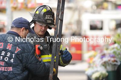 Mar 04, 2012. Brooklyn. 2-Alarm.Near Bedford Ave. and N 6th St.