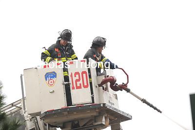 Nov 15, 2011. Brooklyn. 2-Alarm. Near Hopkins Ave. and Prospect Pl.