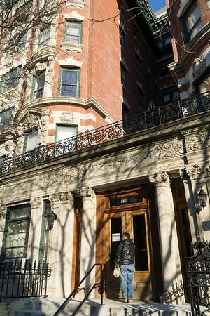 Elegant entrance to 379 Washington Avenue near Greene Avenue.