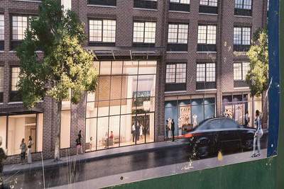 Oh so beautiful: the artist's rendering for this new building on Atlantic. Looks idyllic, no?