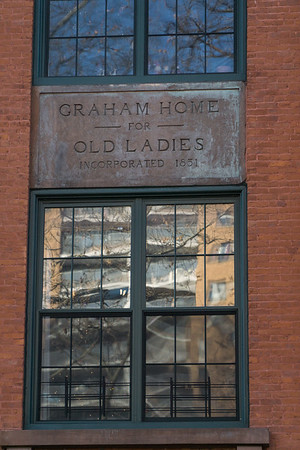 That's right! It was the Graham Home for Old Laides. Also the birthplace of the yodel: Little ol' lady who! (get it?)
