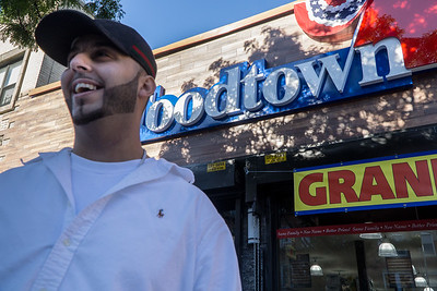 Shady Waddi, Manager of the new Foodtown on Vanderbilt Avenue. This was taken the morning of the grand opening on Oct 14, 2016.