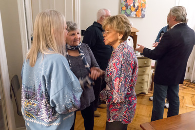 Linnea, Phyllis and Rhoda. These great PPUABA parties give people a chance to catch up.