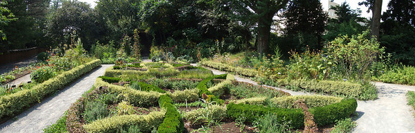 View from the eastern edge of the Herb Garden.