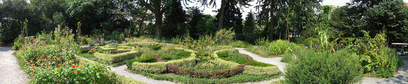 View from the south edge of the Herb Garden -- an even wider view.