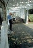 """Under the pergola at the entrance to the Cranford Memorial Rose Garden. """"Pergola"""" has the stress on the first syllabus. But don't ask me how to pronounce """"kiln,"""" because I don't know. Over the ensuing years, the pergola rotted away."""