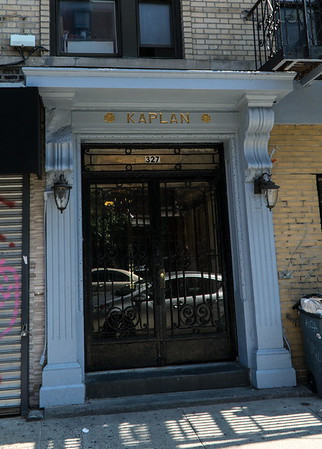 Oh! An apartment house on Bedford Avenue named for my mother's family name. Go know: The Kaplan!