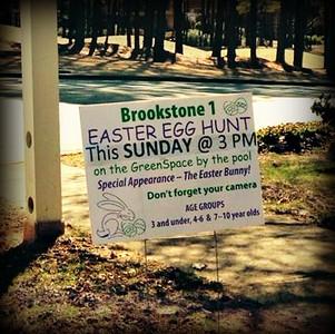 Brookstone 1 HOA Easter Egg Hunt