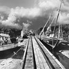 BM1986<br /> Original Streeter jetty ;and Pearl Luggers<br /> Broome 1986
