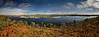Mt Bradley dam near Halls Creek,Nth Australia<br /> panorama composed of 21 pictures stitched together