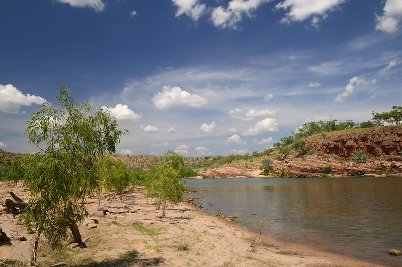 El Questro Station, Access to Chamberlain river for fishing<br /> K609060