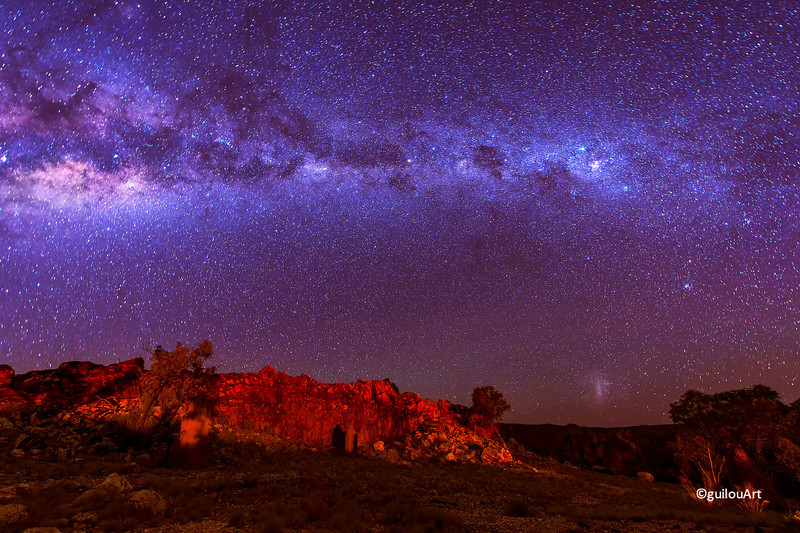 K490012  Kimberley sky showing the miky way
