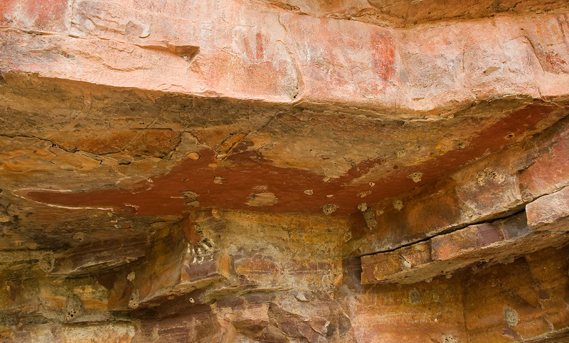 cave paintings along the King river