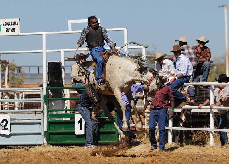 very popular Halls Creek rodeo