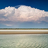 Storm building up in the north Kimberley of western Australia,<br />  fishing along these rivers during a monsoon becomes a spectacular sight
