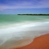 before a cyclone, town beach Broome western australia