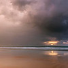 Cable beach during a monsoonal storm, Broome western Australia- 00574-048