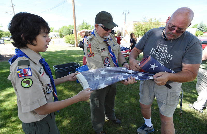 Broomfield US Flag Retirement Ceremony