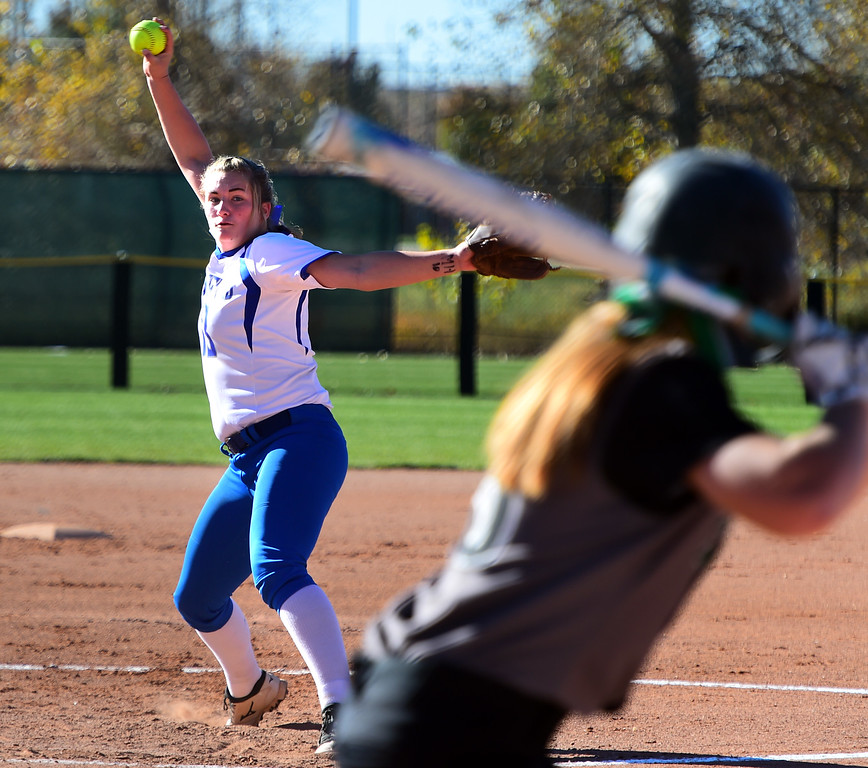 Broomfield Fossil Ridge 5A State Softball