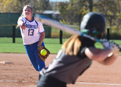 Broomfield Eagles at 5A State Softball Championships