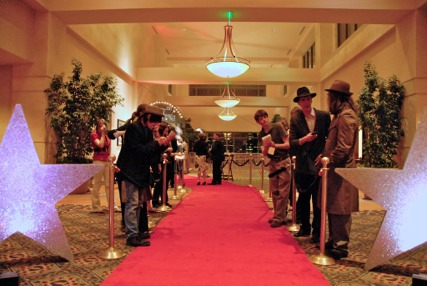 "A Red Carpet greeting was in store for ""Stars""  attending Odyssey 2010"