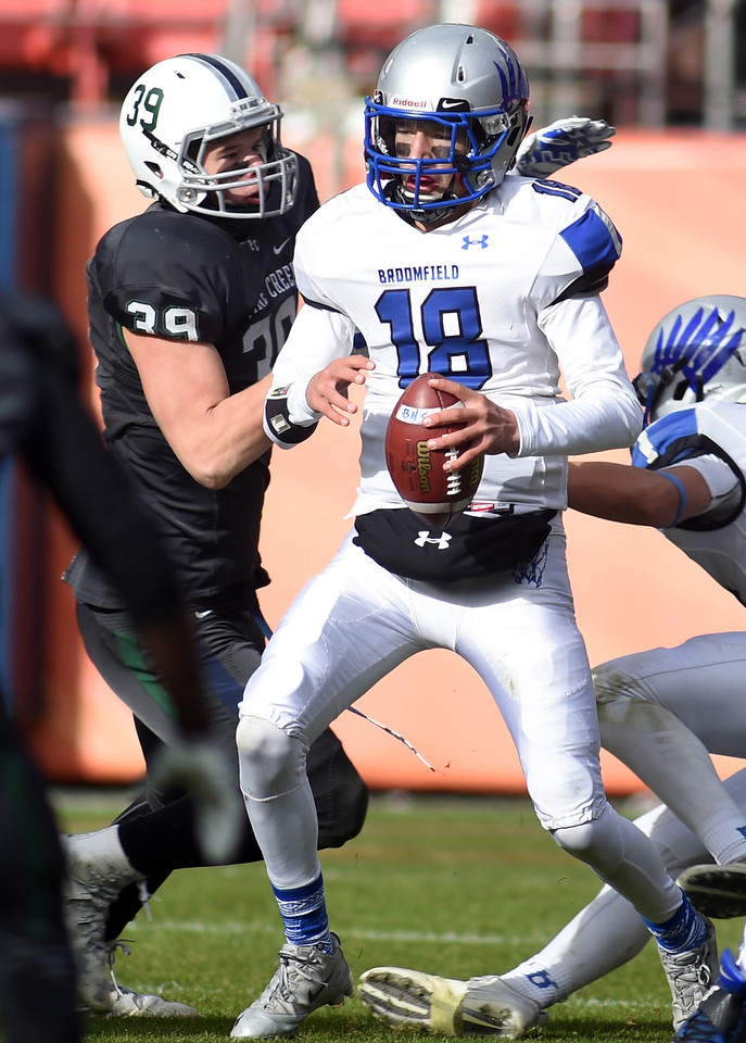 Broomfield Pine Creek 4A State Championship Football