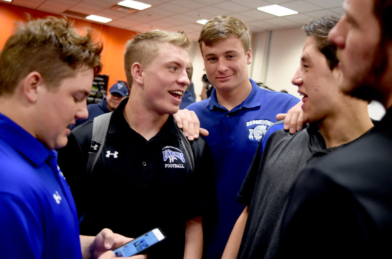 Broomfield at 4A State Football Presser