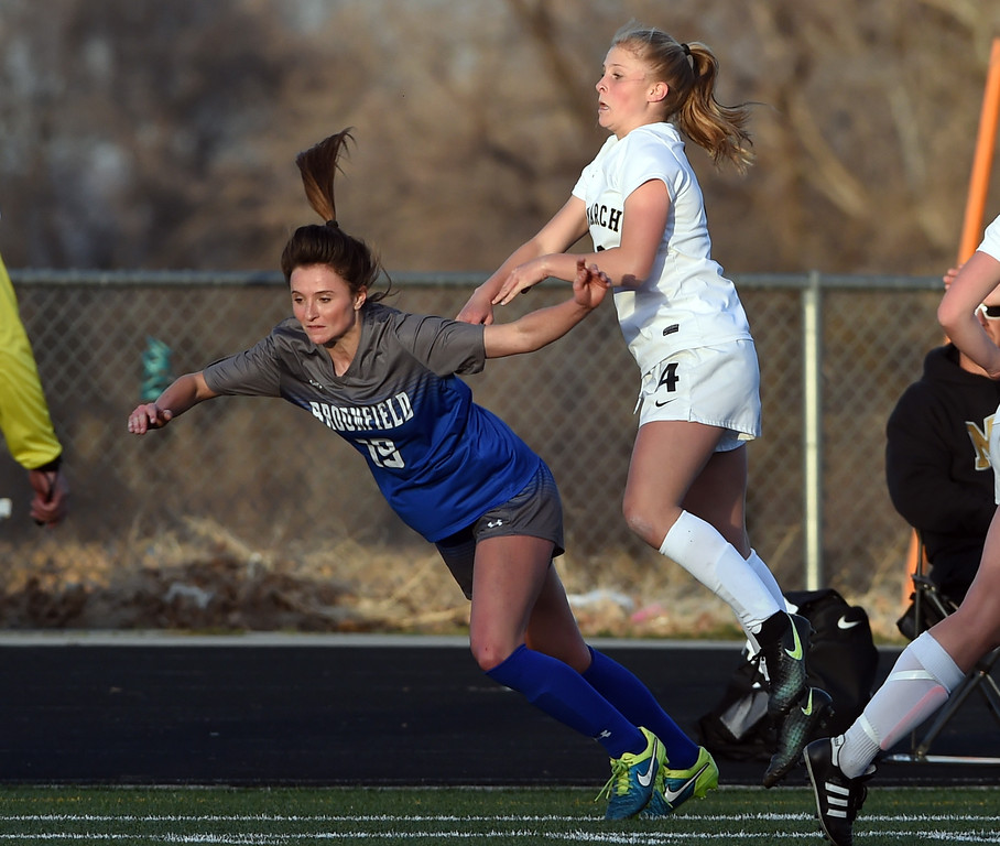 Broomfield at Monarch Girls Soccer