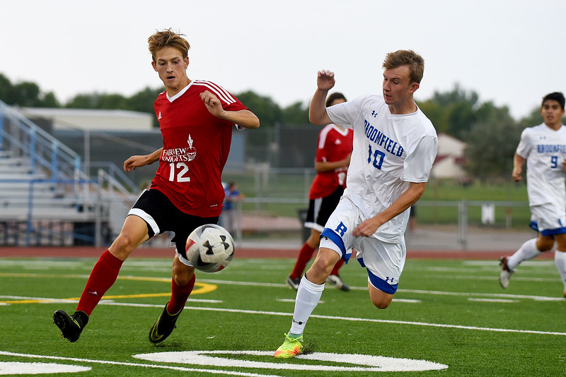 Broomfield vs. Fairview boy's soccer