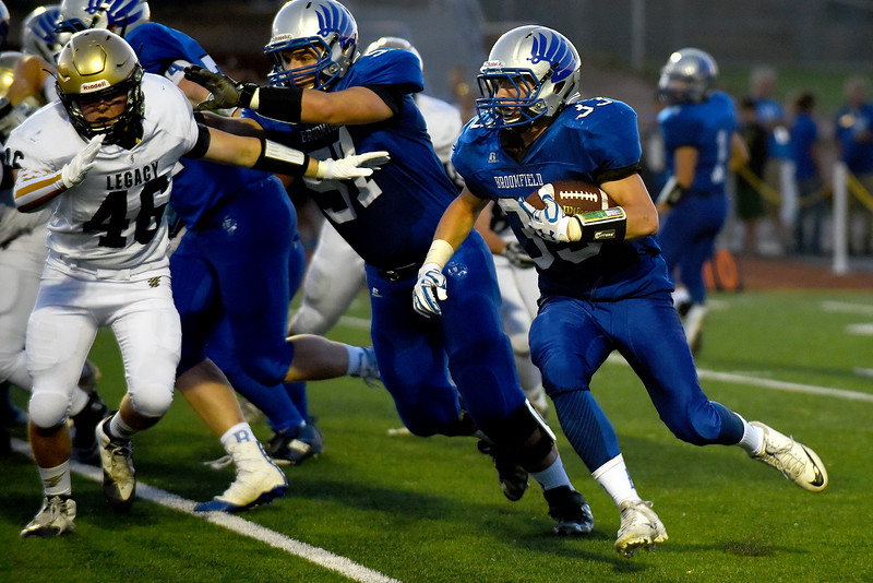 Broomfield vs. Legacy football