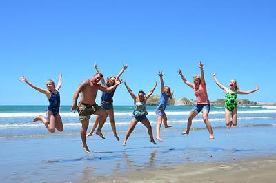 Broons NZ Trip Alan Debbie Chloe Keira