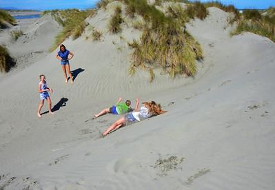 Keira Emma Meg Chloe Waikawa Beach Rotorua Trip January 2014