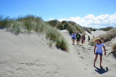 Keira Jan Alan Debbie Chloe Emma Meg Waikawa Beach Rotorua Trip January 2014